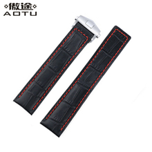 20MM 22MM Genuine Leather Watchbands For TAG HEUER Carrera Heritage Men Watch Straps Women Leather Watch Band Ladies Watch Belt