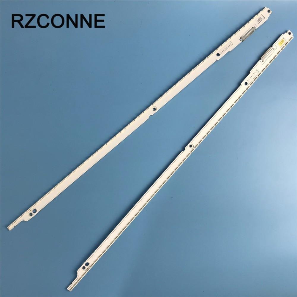 2pcs LED strip 56 52leds 2012SVS40 7032NNB RIGHT56 LEFT56 3D For Samsung 40 UE40ES6560 UE40ES6800 UA40ES6100