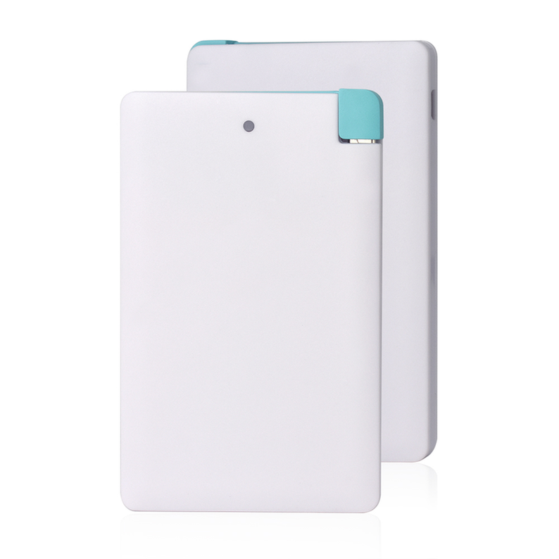 Banco de potência ultra fino 3000 mah carregador portátil de backup bateria externa magro power bank para iphone x 8 7 samsung