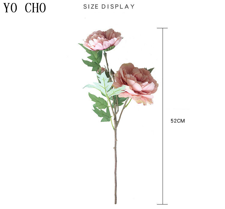 Chinese national flower peonies  simulation big peony flowers for home, living room, bedroom, party,wedding,hotel ,shopwindow  decoration arranging flower accessories for christmas new year Halloween Thanksgiving Anniversarie