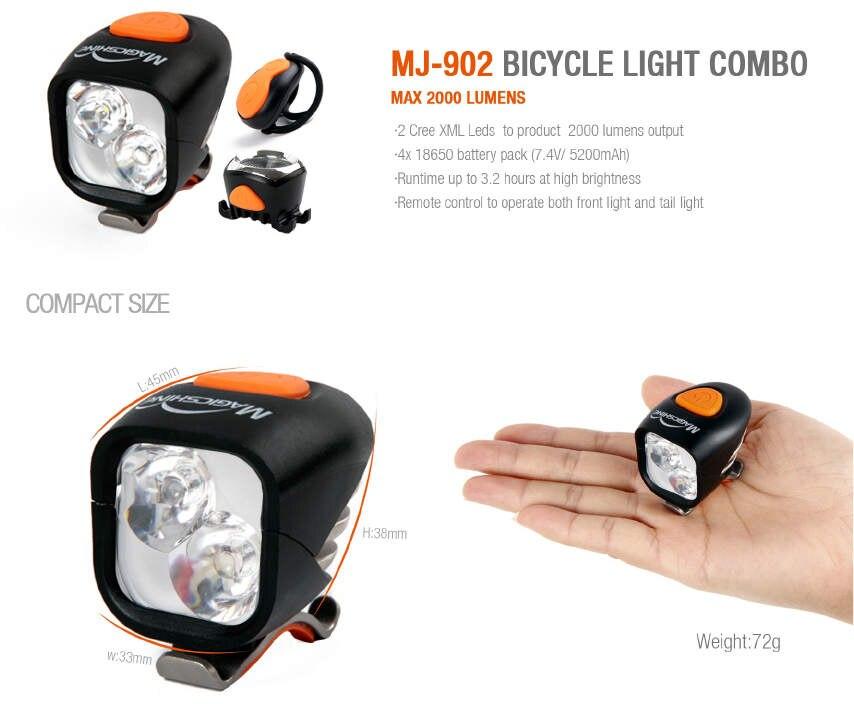 Magicshine 902 combo lumière de vélo