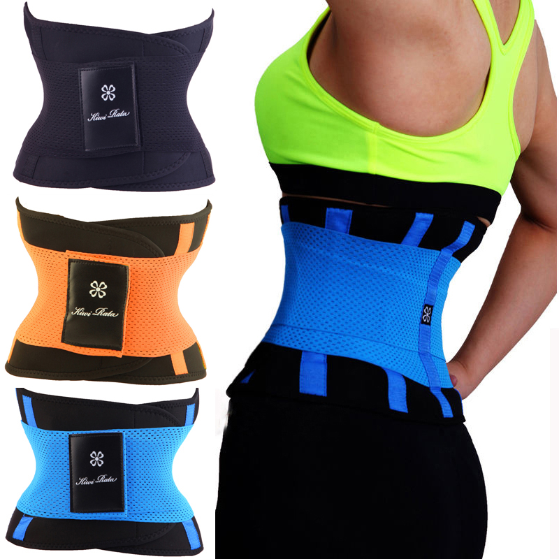 2016 Waist Trainer Cincher Man Women Xtreme Thermo Power Hot Body Shaper Girdle Belt Underbust Control Corset Firm Slimming