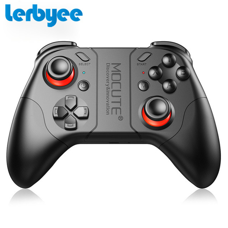 Lerbyee MOCUTE 053 Mini Wireless Gamepad Bluetooth Game Controller Joystick for Android iOS Phones Tablet PC VR TV box