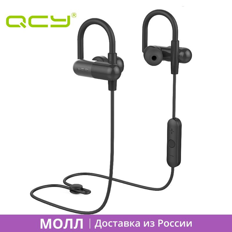 Prix pour CENTER COMMERCIAL QCY QY11 oreille de sport crochet casque sweatproof bluetooth écouteurs HIFI 3D stéréo écouteurs pour android iphone yotaphone