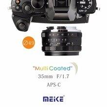 Meike MK-4/3–35-1.7 35mm f1.7 Large Aperture Manual Focus lens M4/3 for MTF system Olympus Panasonic