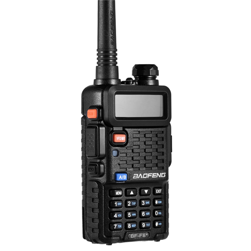 Image 3 - 100% Original BaoFeng F8+ Upgrade Walkie Talkie Police Two Way Radio Pofung Dual Band Outdoor Long Range VHF UHF Ham Transceiver-in Walkie Talkie from Cellphones & Telecommunications