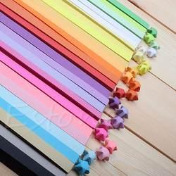 90 шт. конфеты Цвета оригами Лаки желание звезда Бумага полоски Бумага складной best пожелания