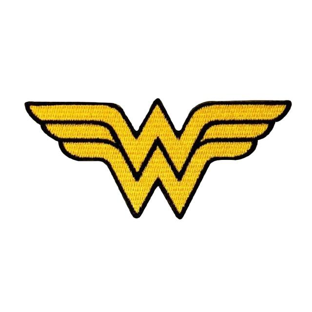 Wonder Woman Logo Patch For Clothing Symbol Superhero Emblem Dc
