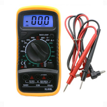 ProfPortable Digital Multimeter Backlight AC/DC Ammeter Voltmeter Ohm Tester Meter XL830L Handheld LCD Multimetro