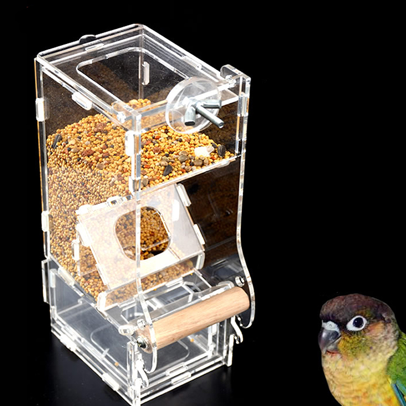 cup bird transparent is image feeder loading window mount acrylic feeders birdhouse itm squirrel tray suction