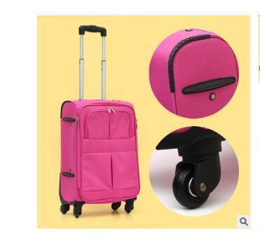 2016 бренд Женщин Путешествовать сумка Тележка на колесах леди дорожная сумка на колесах Путешествия Троллейбус Случае Lugguage Чемодан на Колесах