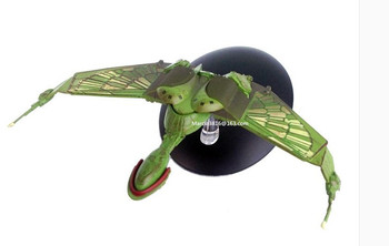 Science fiction star trek klingon raptor spaceship model