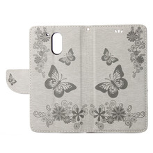 Double Embossing Butterfly PU Leather Case For Motorola MOTO G4 Plus Case Flip Cover Wallet Holster Lanyard For Moto G4 Case