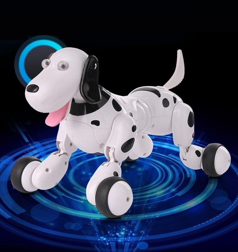Fernbedienung tier spielzeug RC Roboter Smart Hund 777 338S RC Simulation Hund Multi Funktion Spielzeug hund sound bewegen geschenk VS TT320 dinosaurier - 3