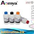 Aomya 250 мл * 4C сублимационные чернила для Epson 4 вида цветов Переводные бумажные чернила для принтеров Epson для футболок