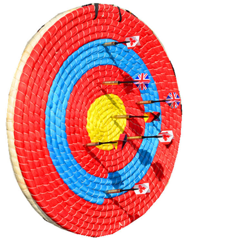 Compound bow recurve bow shooting target grass target archery straw products target bow and arrow shooting target image