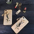 For Apple iphone 6s 6s plus Bracelet Stars YSL PC cover phone case for iphone 7 7plus 4.7/5.5inch  ipaky brand back cover case