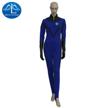 Manluyunxiao anime fantástico 4 invisible woman cosplay señora trajes de disfraces de halloween party dress envío gratis