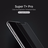 NILLKIN Super T Pro Clear Anti Explosion Tempered Glass For Iphone X Ultra Thin 0 15mm