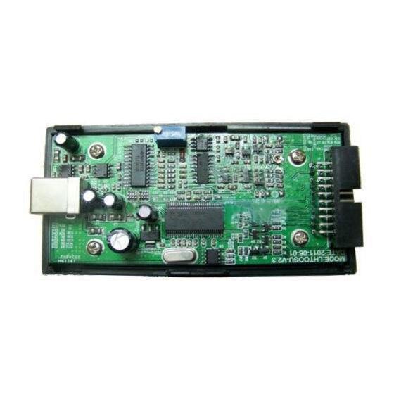 I2C SPI peut Uart LHT00SU1 analyseur de logique d'oscilloscope virtuel