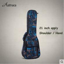 21 inch 26 inch uuke Liqin uklele Yuk Lili small guitar thick backpack piano bag