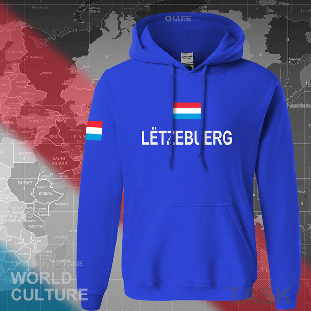 Luxembourg Luxembourger hoodies men sweatshirt sweat new hip hop streetwear clothing sporting tracksuit nation LUX Luxemburg 3