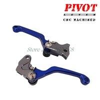 CNC Pivot Brake Clutch Levers For Husqvarna TC 250 TE 250 300 FC FE 250 350
