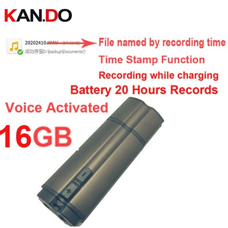 S6 16 GB temps timbre + commande vocale + nom du fichier par un temps record 20 H de travail audio enregistreur vocal enregistreur, USB flash disque enregistreur vocal