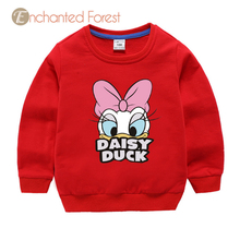Children's sweatshirts spring cartoon cotton printing kid clothes kids sweatshirt baby girl clothes sweatshirt  for girls Unisex