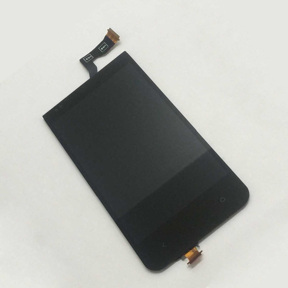 Black For HTC Desire 300 Touch Screen Digitizer Sensor Glass + LCD Display Panel Monitor Module Assembly