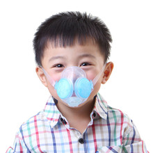 Child Masks PM2.5 Anti-fog And Haze Anti-particulate Matter Protection Sports Masks Silicone Dust Mask Health Care Tools