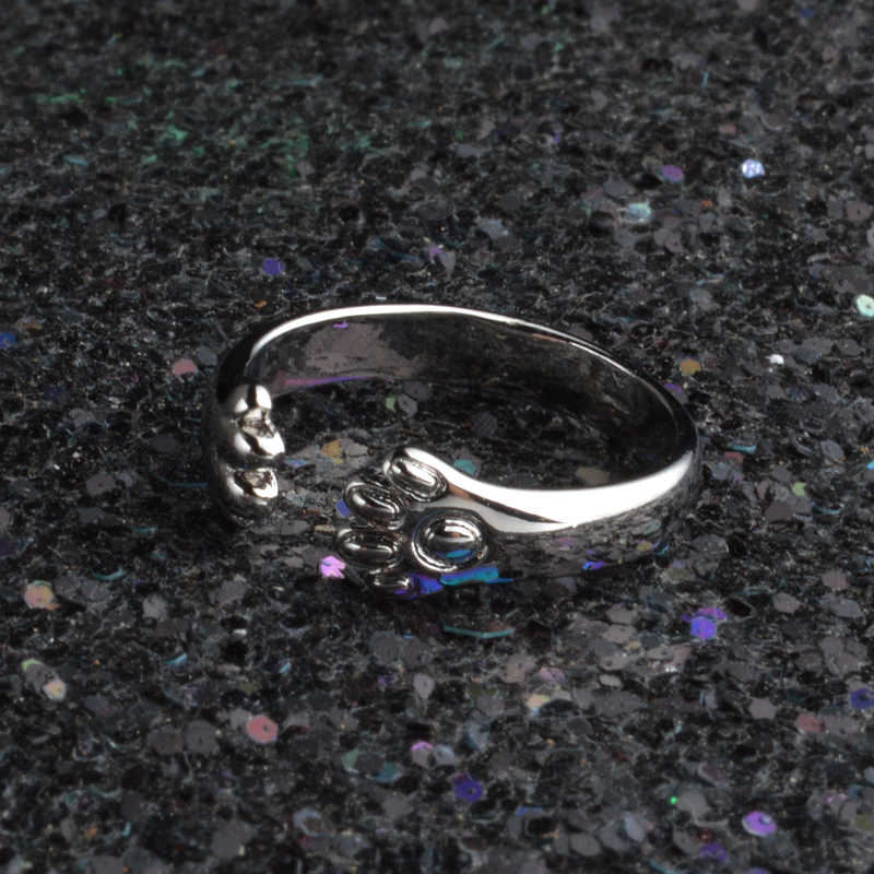 Pretty Cat Claws Design แหวนสำหรับแฟน/เด็กสัตว์น่ารักแหวน Party อุปกรณ์เสริมขายส่งขายร้อน