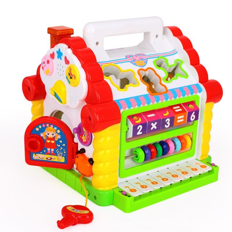 Divertido Musical electrónico multifuncional niños juguetes musicales para niños pequeños juguetes educativos regalos de música para el desarrollo de los niños aprendizaje - 3