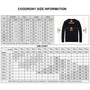 Image 5 - Coodrony 브랜드 스웨터 남성 니트웨어 당겨 옴므 턴 다운 칼라 풀오버 셔츠 남자 가을 겨울 따뜻한 면화 스웨터 91040