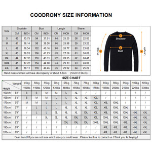 Image 5 - Coodrony casaco masculino de marca, roupas masculinas, outono inverno, grosso, com zíper, casacos de lã de caxemira 2019