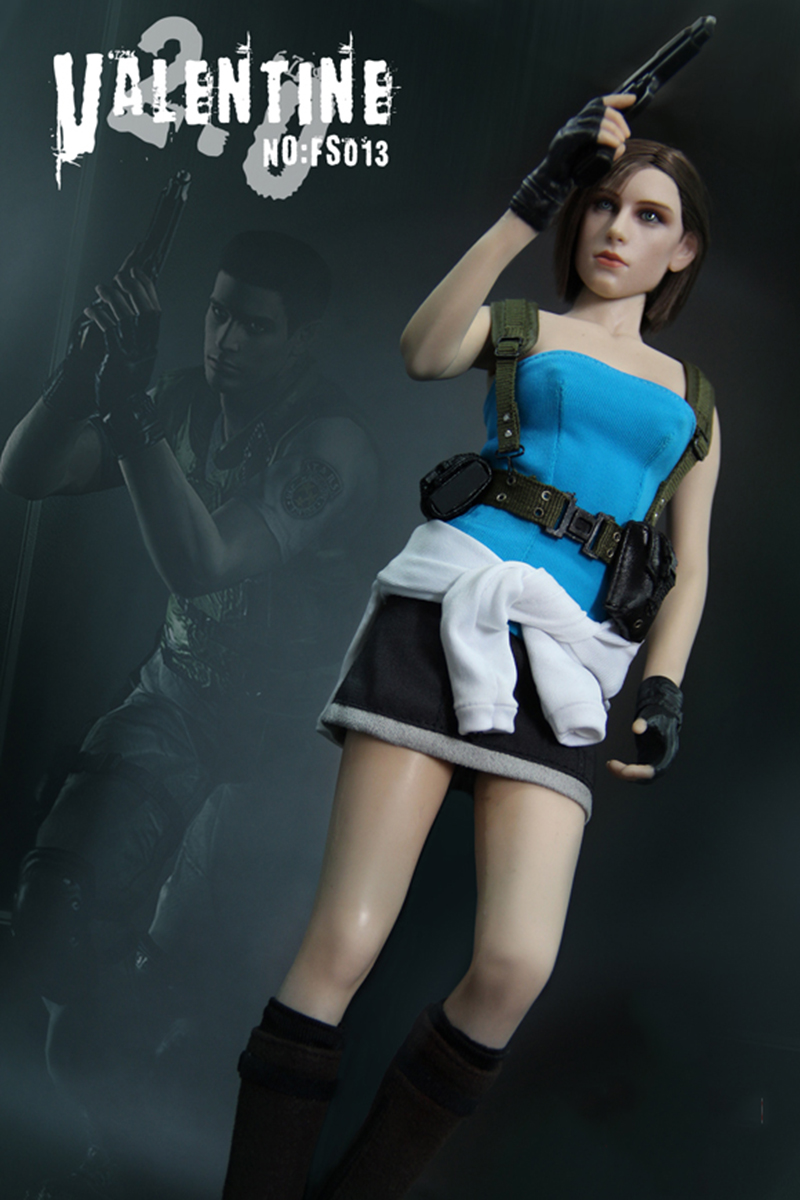 1/6  Resident Evil Jill valentine Game Version Whole Box Action Figure Model Collections Gifts action game cartridge alcahest english language usa version