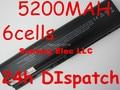 5200MAH DV2000 laptop Battery for HP Pavilion DV6000 G6000 G7000 COMPAQ Presario V3000 V6000 A900 C700 F500 F700 free ship