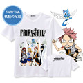 New Fashion Men Shirt Tee Japanese Anime Fairy Tail Funny T-shirt Short Sleeve Mens Clothing