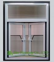 Anodized Aluminum Casement Windows With White color Aluminum Window Frame, Latest Design Aluminum Casement Window,Inward opening