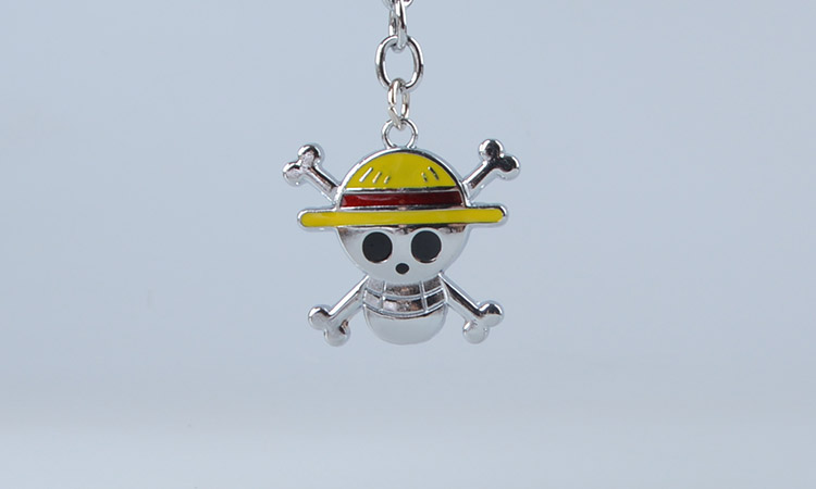 Hat Keychain One Piece Skull