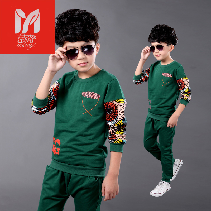 Kids Clothes Boys 2017 Baby Boys Spring Jackets Pants Set Korean Fashion Children Clothing Sports Suit For Boy balabala spring children boys tracksuit clothing set brand causal kids sports suit tracksuits hoodies pants baby boys clothes se