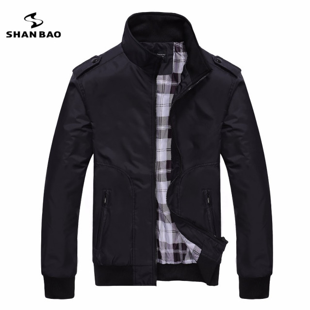Aliexpress.com : Buy Men's casual black jacket simple British ...