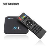 M16 Android 7 1 Amlogic S905X KODI 17 4 Android Smart TV BOX 1GB 8GB 2GB