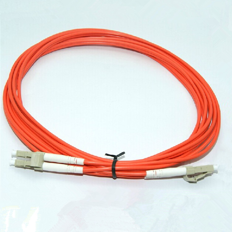 15 Meter LC-LC Fiber Optic Cable MultiMode Duplex Patch Cord OM2 50/125 15M