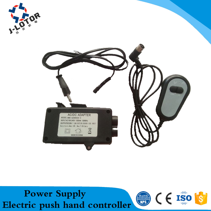 Electric push hand controller power supply Push rod controller Push  transformer dc linear actuator Motor drive controller new adjustable dc 3 24v 2a adapter power supply motor speed controller with eu plug for electric hand drill