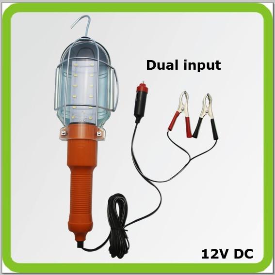 Оптовая продажа 4 шт 12 В 3 Вт LED ручной лампы светодиодная лампа работы Luz Trabajo светодиодный свет ремонт инспекции лампы лагеря автомобиля чре...