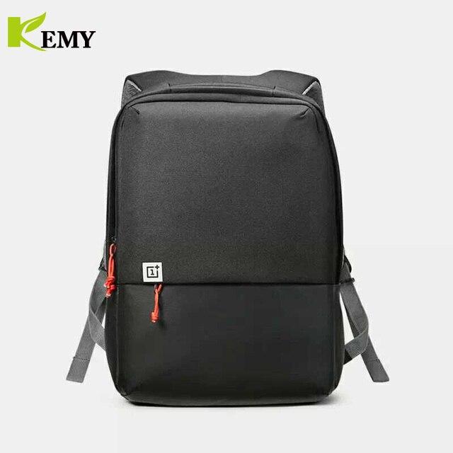 Kemy Asli OnePlus Perjalanan Tas Bahu Pria Mochila Notebook Komputer Ransel Sekolah Tas Cordura Ransel untuk Remaja