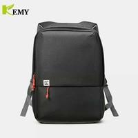Kemy Original OnePlus Travel Shoulder Bags Men Mochila Notebook Computer Rucksack School Bag Cordura Backpacks For Teenagers