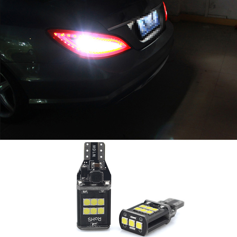 2x T15 W16W 921 912 Super Bright <font><b>LED</b></font> Canbus Car Backup Reserve Lights for <font><b>Mercedes</b></font> <font><b>Benz</b></font> W203 W204 W210 W211 <font><b>W205</b></font> W176 W220 AMG image