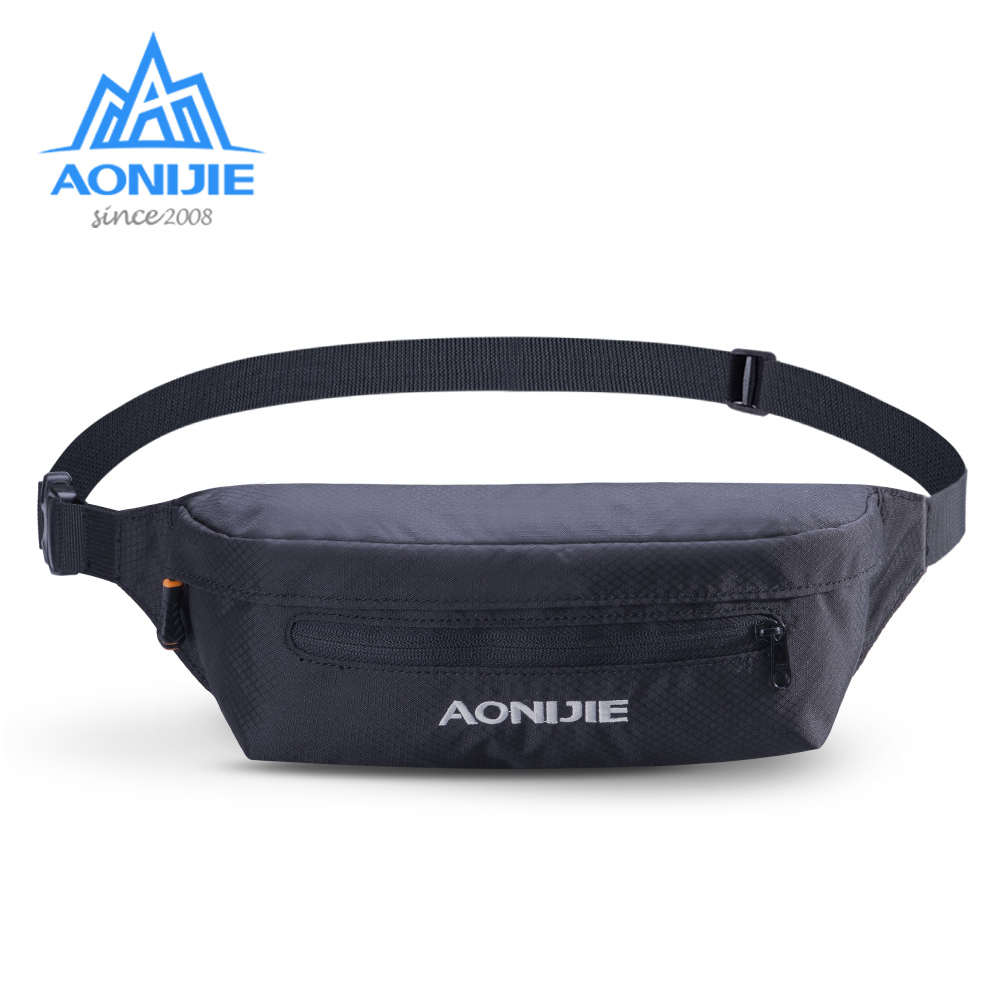AONIJIE W931 Unisex Running Waist Belt Jogging Phone Bag Fanny Pack Pouch For Travelling Gym Marathon Cycling Workout Fitness